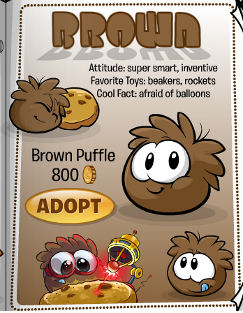 brown puffle1