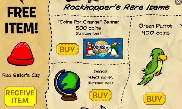 rockhoppers-xmas-items