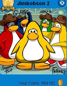 penguin-band-background