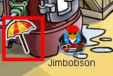 umbrella pin